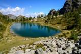Lago Nero in den Seealpen