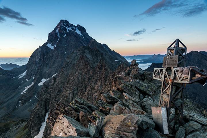 Monte Viso in den Cottischen Alpen