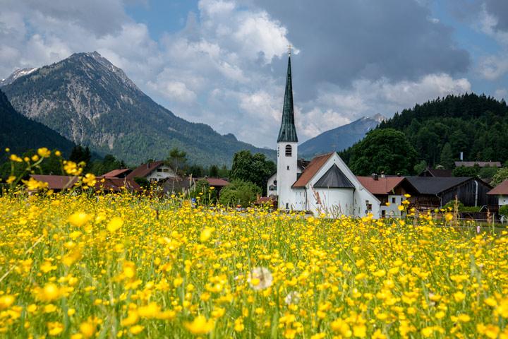 Kirche im Graswangtal