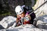 Klettersteig an der Tajakante