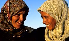 Berberfrauen in Marokko