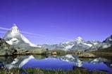 Matterhorn am Riffelsee - Der schönste Berg der Welt? - Auf jeden Fall der bekannteste Berg der Schweiz.