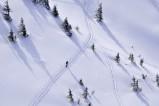 Skitourengeher an der Rotwandreibe - Die Rotwand ist der Klassiker unter den bayerischen Skitouren.
