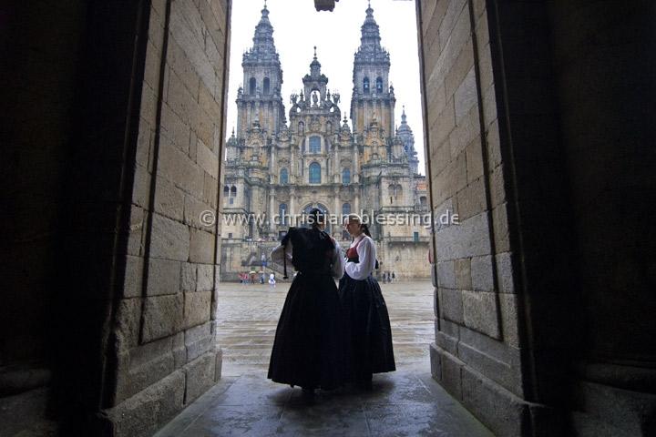 Spanien - Kathedrale von Santiago de Compostela - Santiago de Compostela liegt in Galicien und ist der Endpunkt des berühmten Jakobsweg. Die gesamte Altstadt steht unter dem Schutz der UNESCO.
