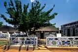 Südafrika - Ndebelehaus - Bei Botshabelo liegt das Freilichtmuseum der Ndebele