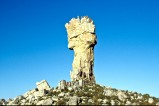 Das Malteserkreuz ist eine bizarre Steinformation in den Zederbergen in Südafrika.