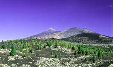 Der Vulkan Pico del Teide auf der Kanareninsel Teneriffa ist mit 3718m der höchste Berg Spaniens